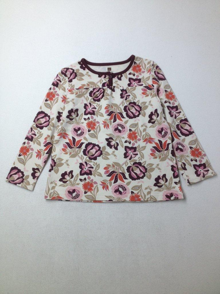 Tea Girls Long Sleeve T-Shirt Size 5