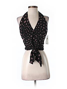 Nicole Miller New York Sleeveless Silk Top Size M