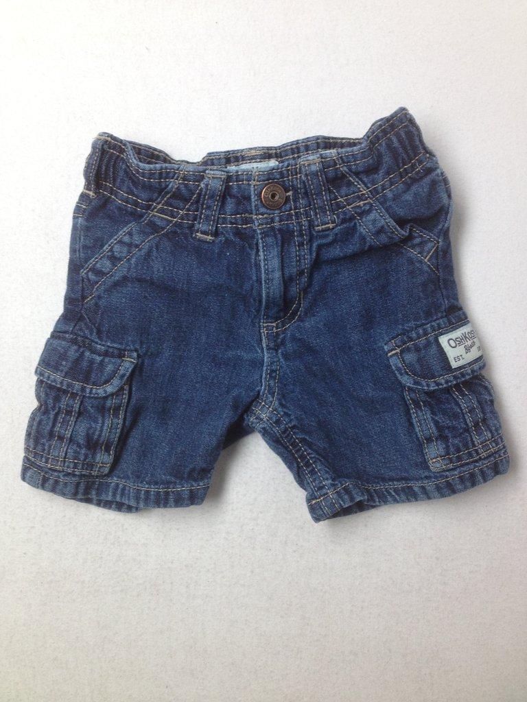 OshKosh B'gosh Boys Denim Shorts Size 12 mo