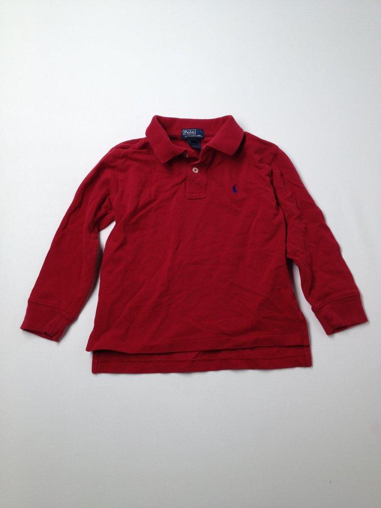 Polo by Ralph Lauren  Boys Long Sleeve Polo Size 5