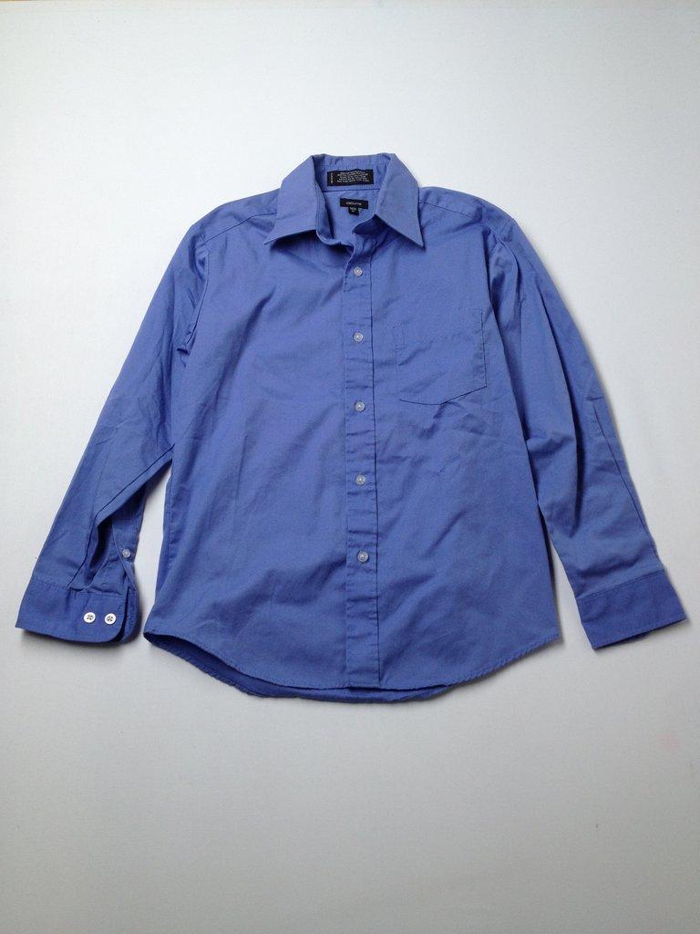 Claiborne Boys Long Sleeve Button-Down Shirt Size 12