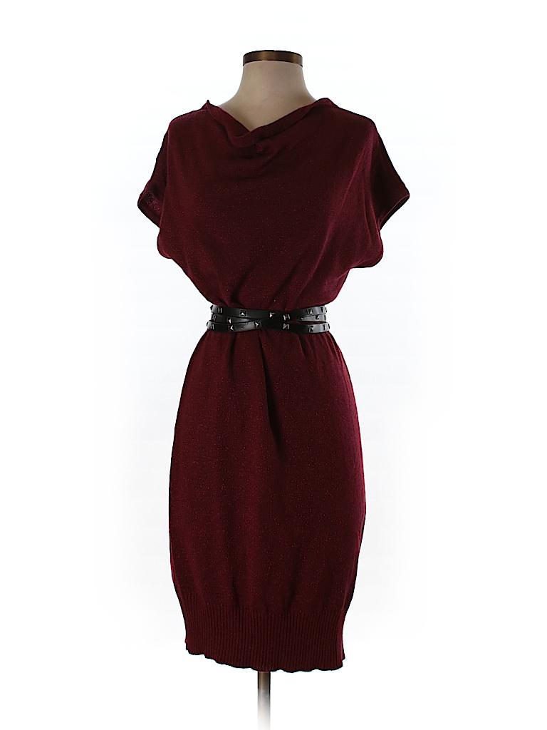 New York & Company Women Sweater Dress Size S