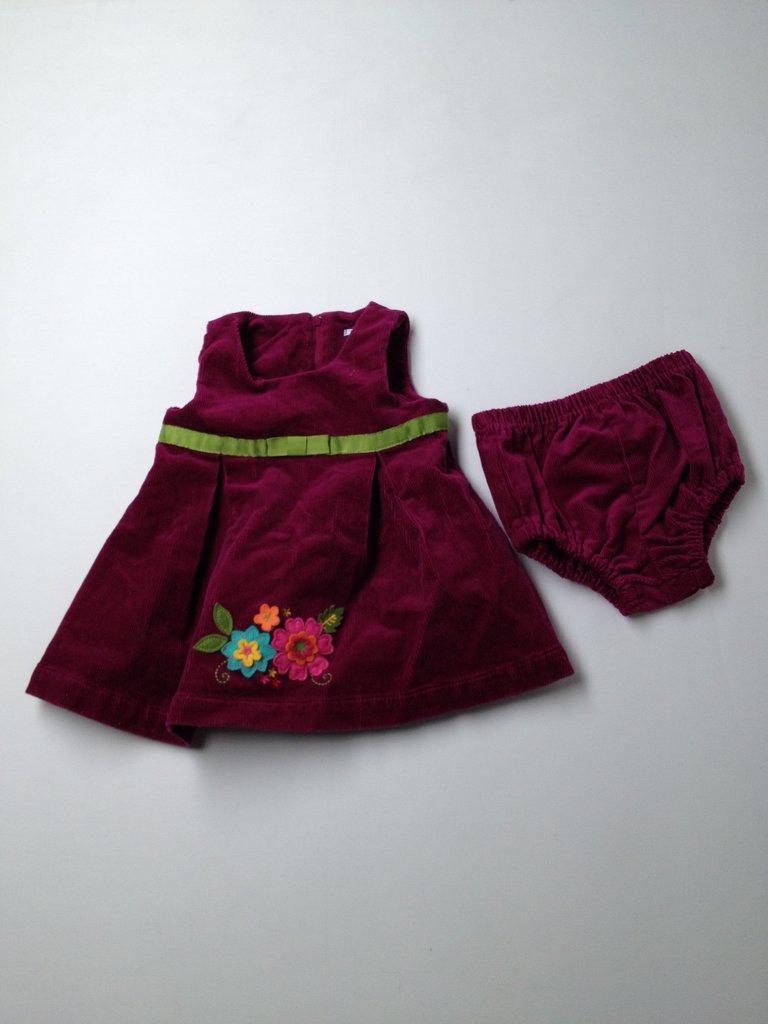 Hartstrings Girls Dress Size 12 mo