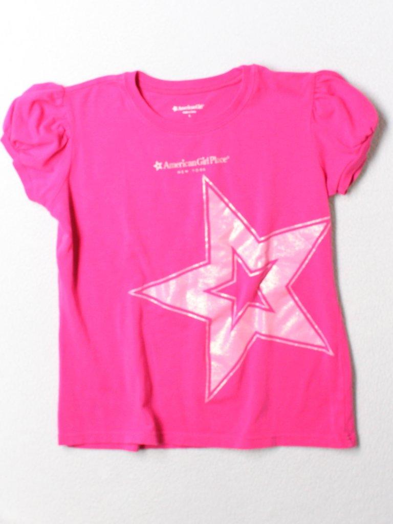 American Girl Girls Short Sleeve T-Shirt Size L (Youth)