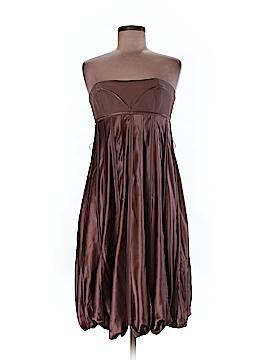 BCBGMAXAZRIA Runway Silk Dress Size 8