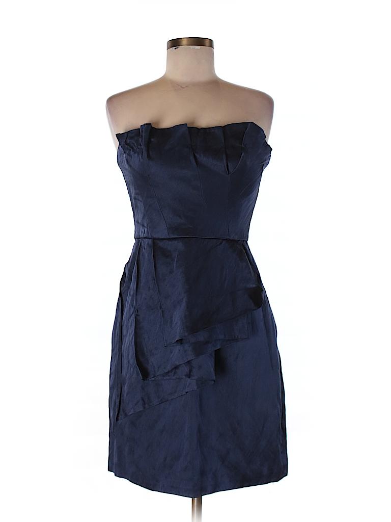 BCBGMAXAZRIA Women Silk Dress Size 6