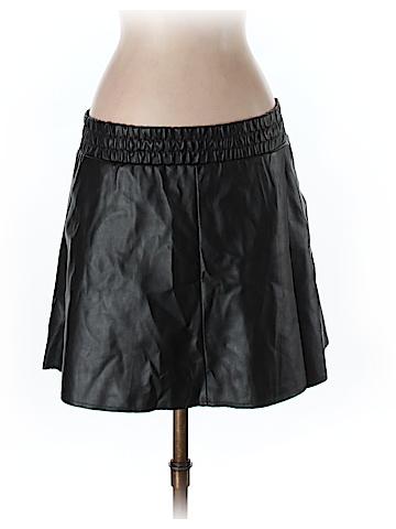 BCBGMAXAZRIA Faux Leather Skirt Size XS