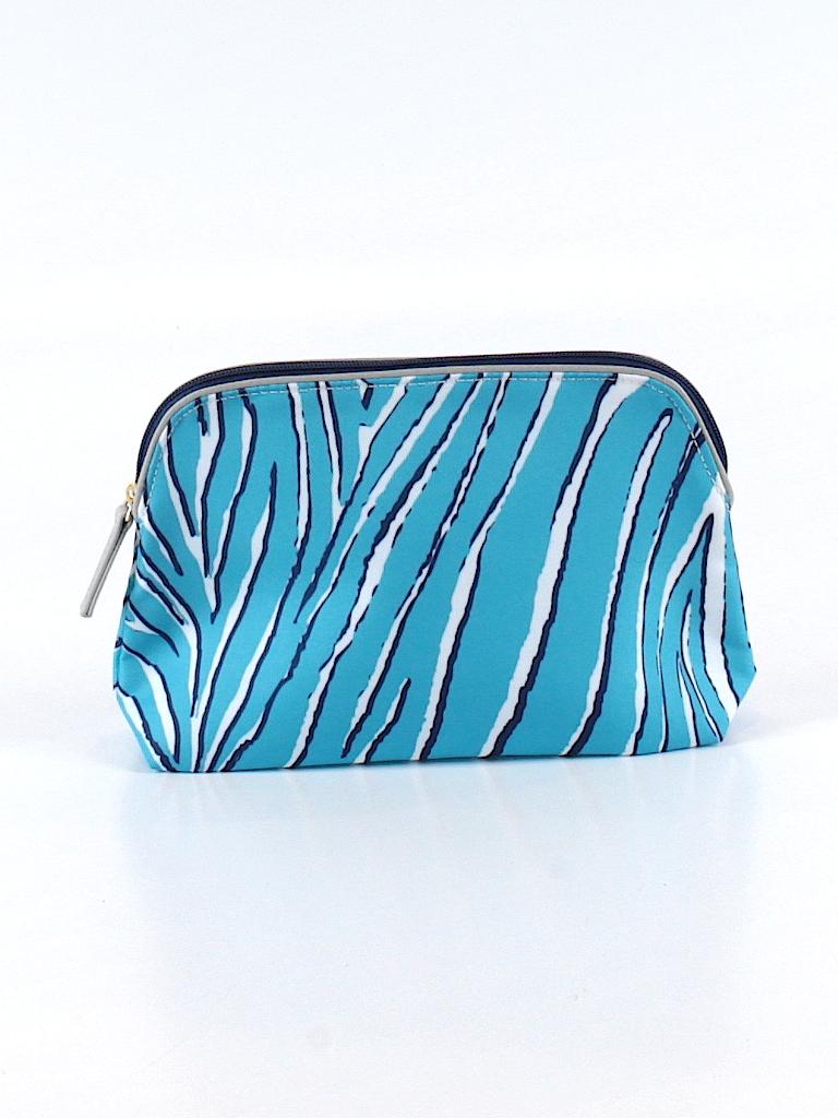 estee lauder animal print blue makeup bag one size 66. Black Bedroom Furniture Sets. Home Design Ideas