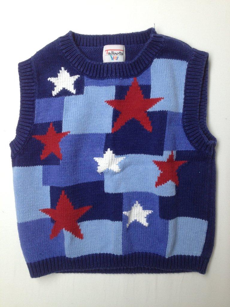Talbots Kids Boys Sweater Vest Size 3