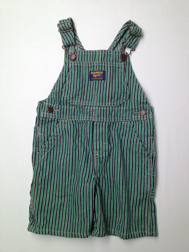 OshKosh B'gosh Boys Overall Shorts Size 24 mo