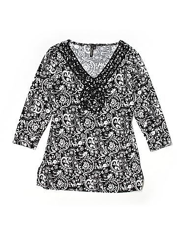 Olivia Paige 3/4 Sleeve Blouse Size M