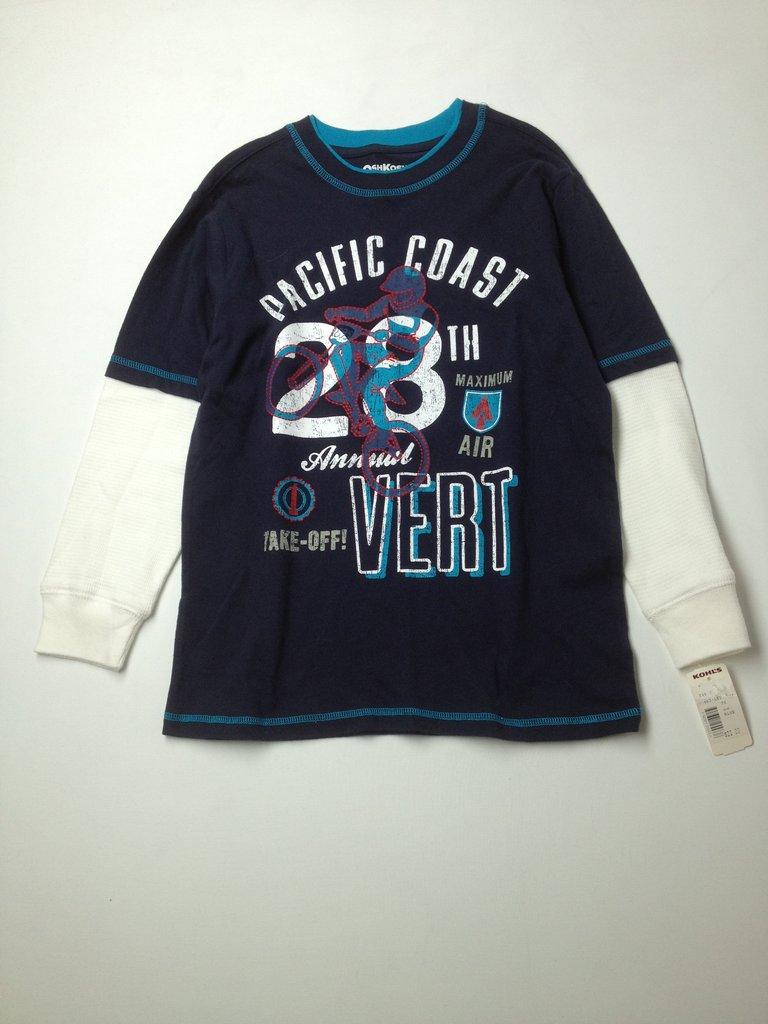 OshKosh B'gosh Boys Long Sleeve T-Shirt Size 7