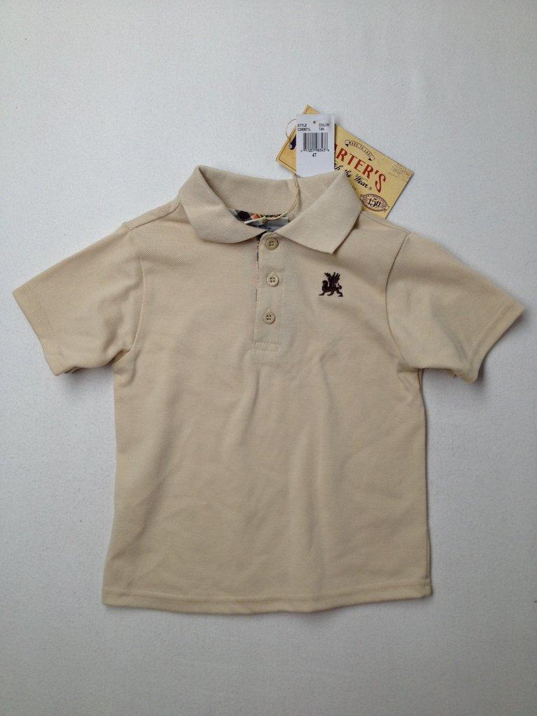 Carter's Boys Short Sleeve Polo Size 4T