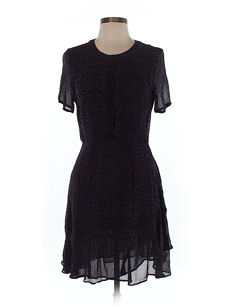 7b70085a67 Brora 100% Silk Solid Purple Silk Dress Size 12 - 79% off