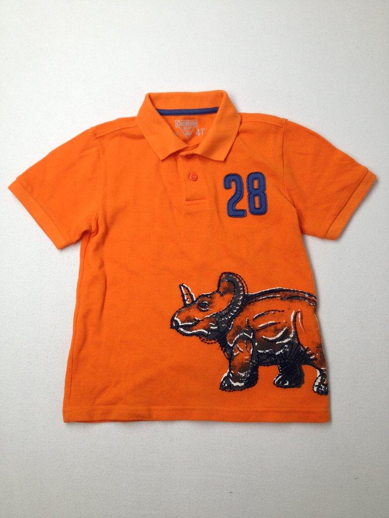 OshKosh B'gosh Boys Short Sleeve Polo Size 4T