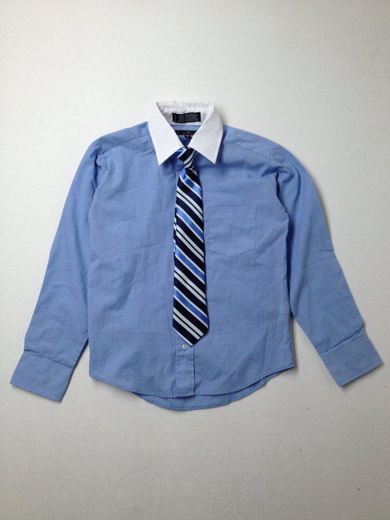 Dockers Boys Long Sleeve Button-Down Shirt Size 8