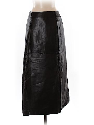Ann Taylor Leather Skirt Size 2