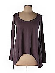 Velvet Women Long Sleeve Top Size P
