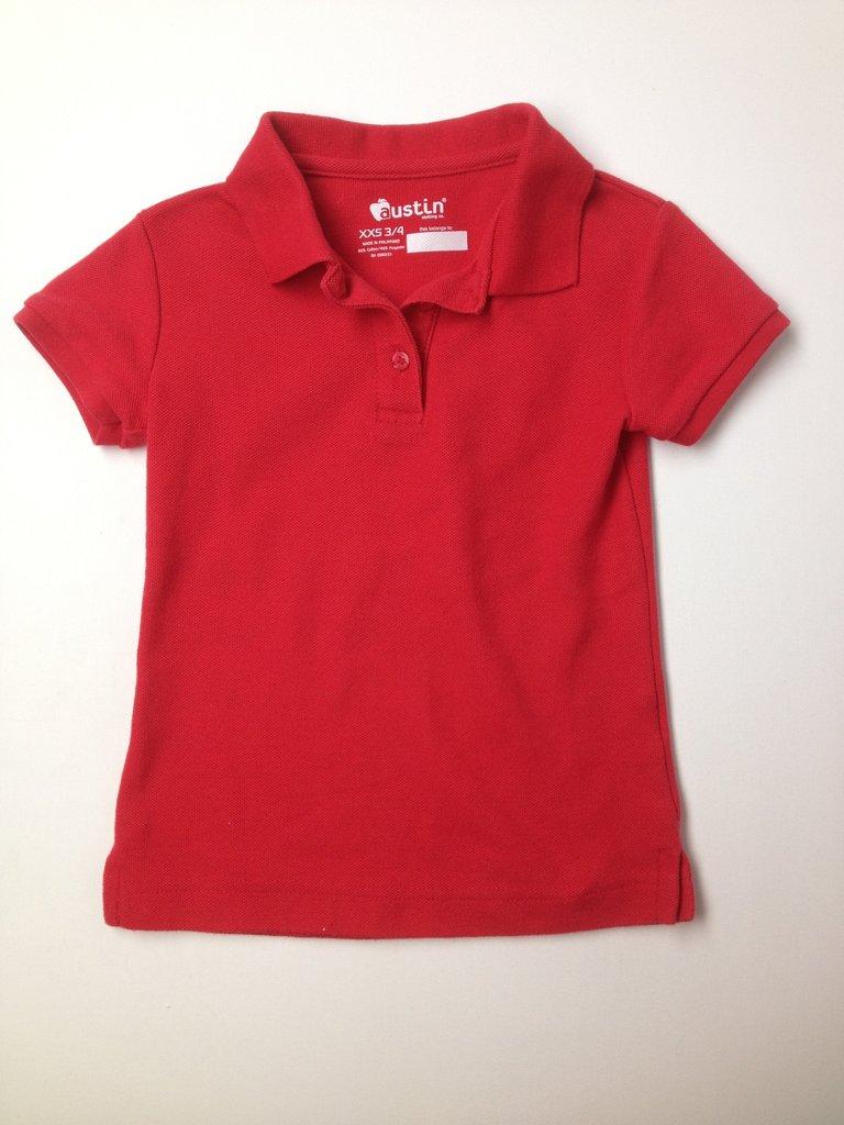 Austin Clothing Co. Boys Short Sleeve Polo Size 3/4