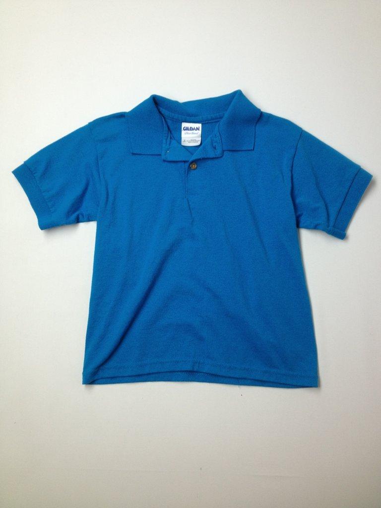 Gildan Boys Short Sleeve Polo Size S (Youth)