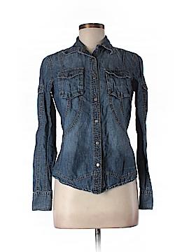 Les Copains Long Sleeve Button-Down Shirt Size 42 (EU)