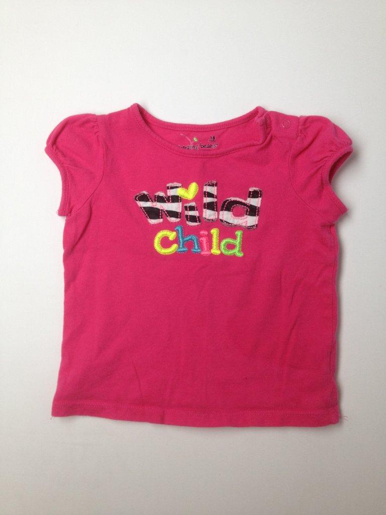 Jumping Beans Girls Short Sleeve T-Shirt Size 18 mo
