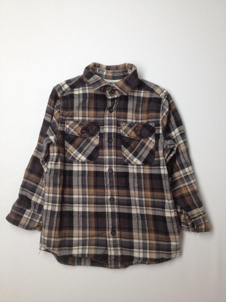 OshKosh B'gosh Boys Long Sleeve Button-Down Shirt Size 4T