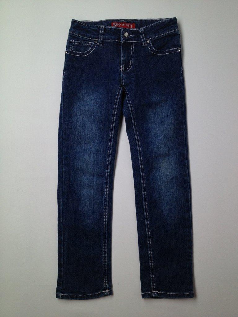 Red Rivet Girls Jeans Size 7