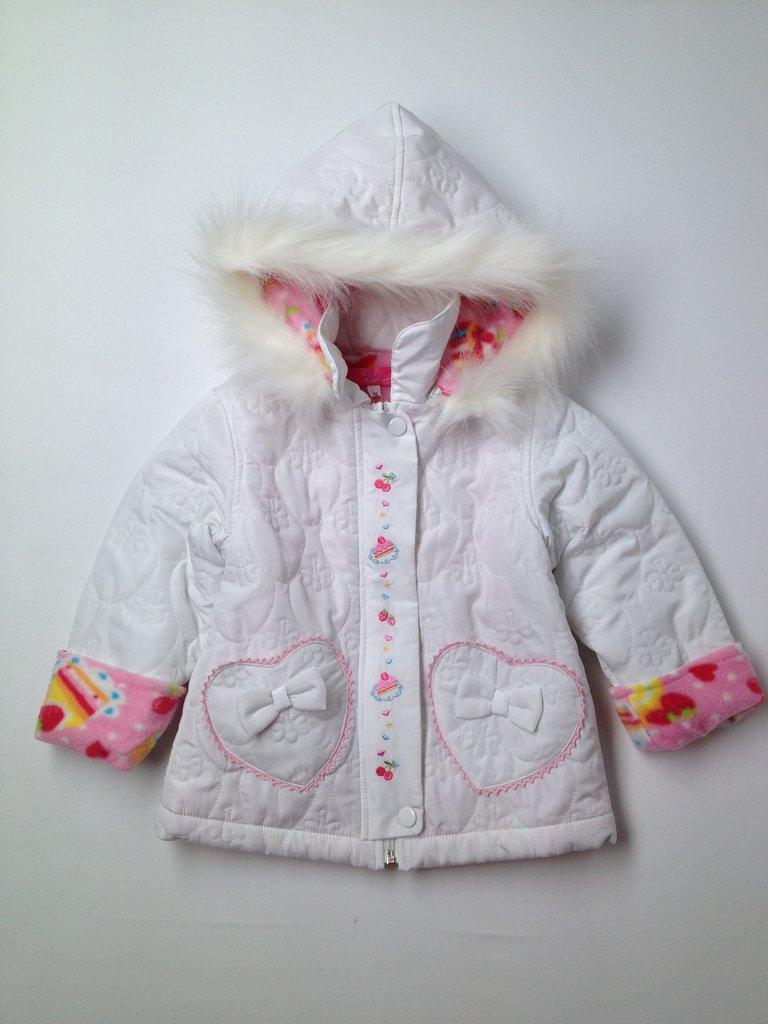 Star Florar Girls Denim Jacket Size 95 (CM)