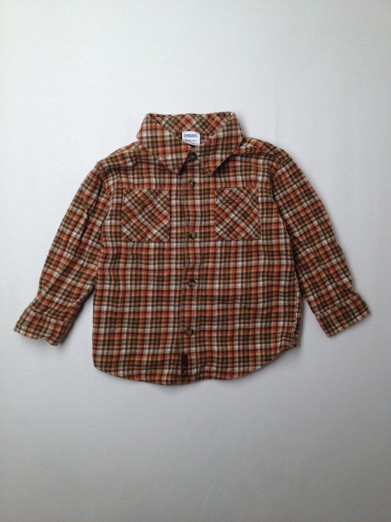 Gymboree Boys Long Sleeve Button-Down Shirt Size 18-24 mo