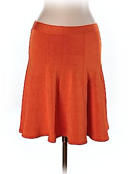 Pink Tartan Casual Skirt Size L