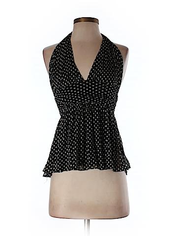 Diane von Furstenberg Women Sleeveless Silk Top Size P