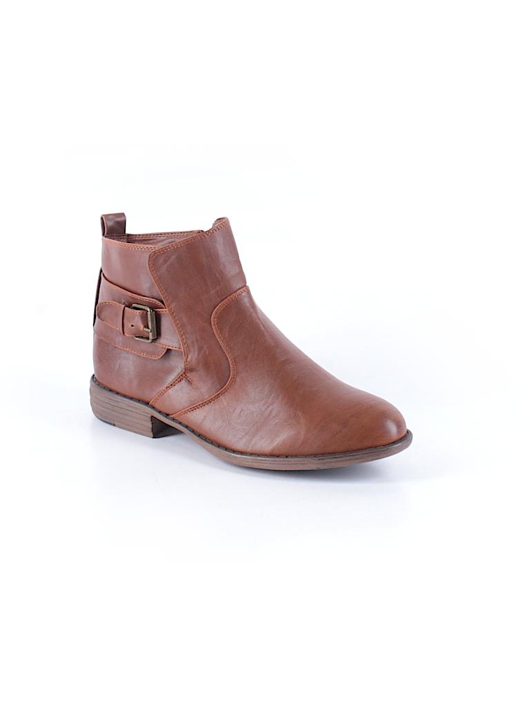 Bucco Women Ankle Boots Size 10