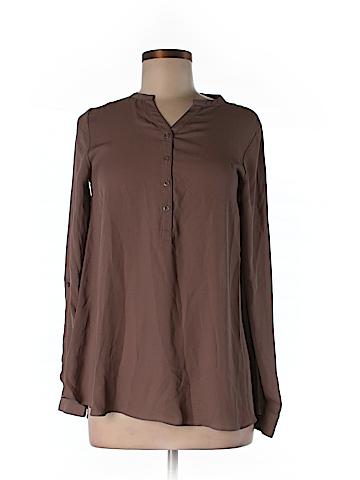 Simply Vera Vera Wang Long Sleeve Blouse Size XS