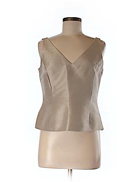 Linda Allard Ellen Tracy Sleeveless Silk Top Size 6