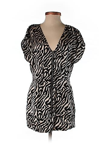 Walter Short Sleeve Silk Top Size S