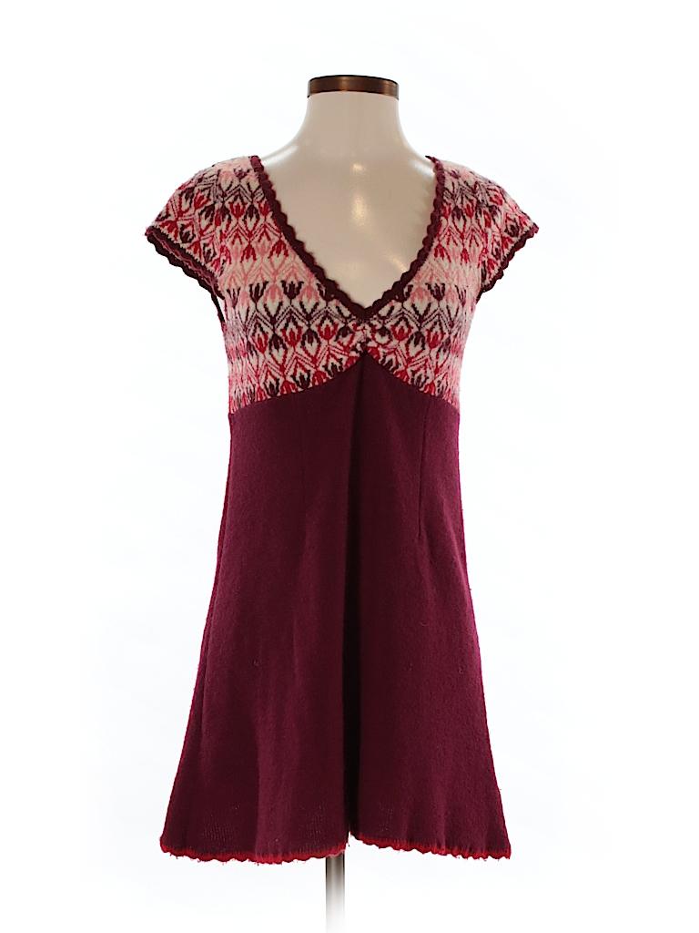 Free People Women Wool Dress Size S