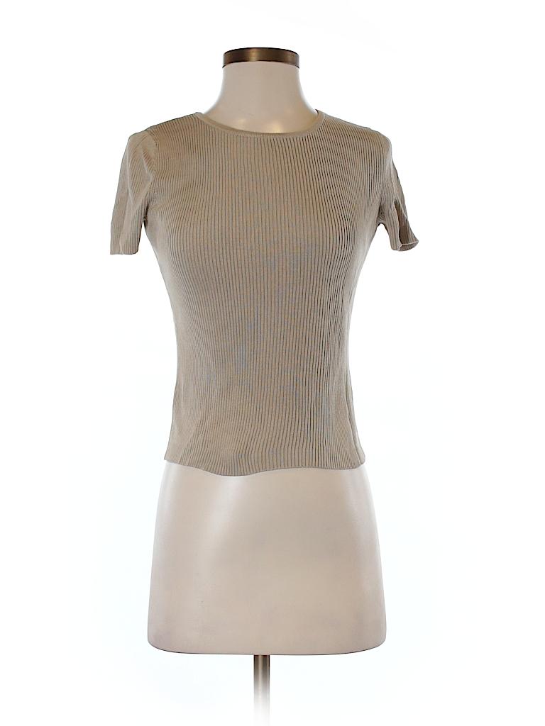 Ann Taylor LOFT Women Short Sleeve Silk Top Size XS