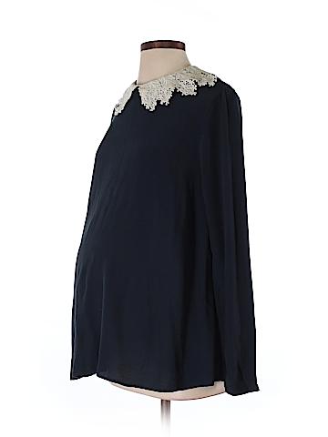 ASOS Maternity Long Sleeve Blouse Size 2 (Maternity)