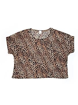 Kina Short Sleeve Blouse Size M
