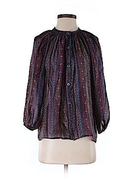 Tucker Long Sleeve Silk Top Size S