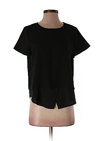 Ann Taylor Short Sleeve Blouse Size S (Petite)