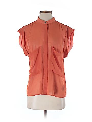 Patterson J. Kincaid Short Sleeve Blouse Size S