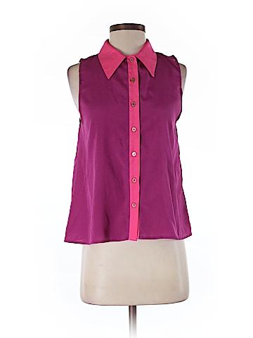 Naven Sleeveless Button-Down Shirt Size S