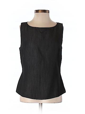 Ann Taylor LOFT Women Sleeveless Blouse Size 2 (Petite)