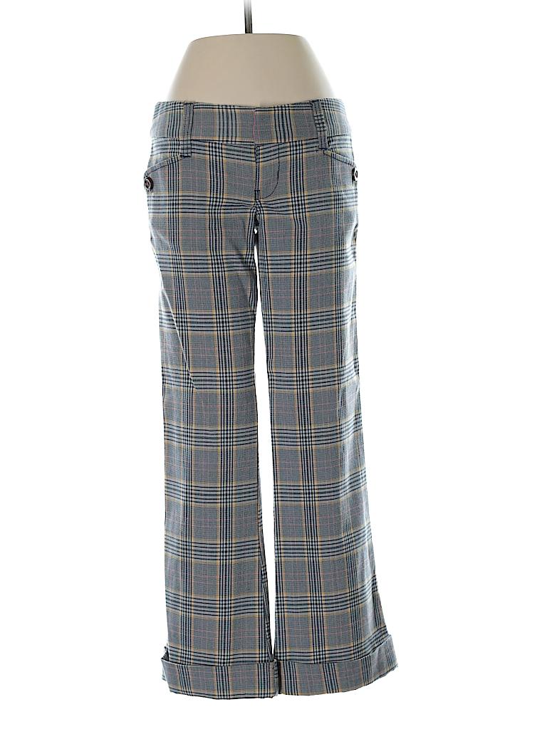 1651f6b222dcb1 Hollister Plaid Dark Blue Dress Pants Size 1 - 98% off | thredUP