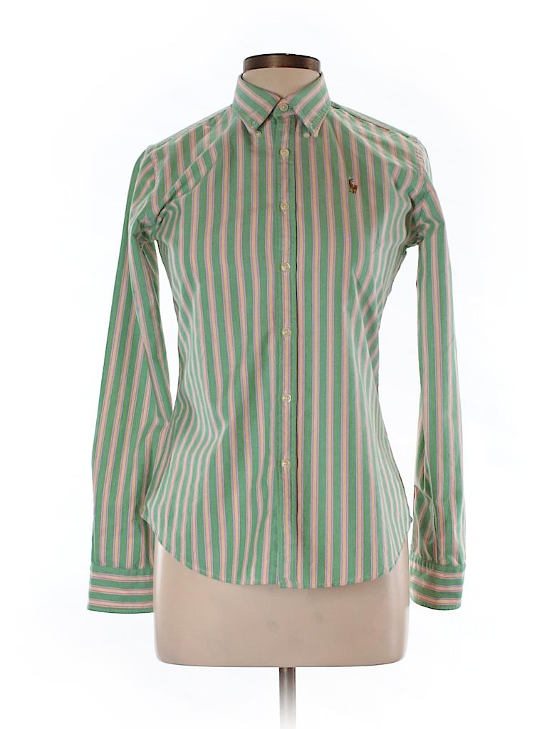 Polo by Ralph Lauren  Women Long Sleeve Button-Down Shirt Size 6
