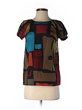 Kensie Short Sleeve Silk Top Size XS