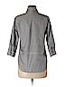 J. Crew Women 3/4 Sleeve Button-Down Shirt Size 00