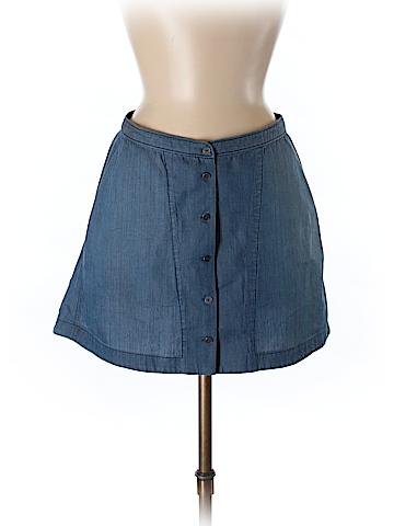 Theyskens' Theory Denim Skirt 24 Waist